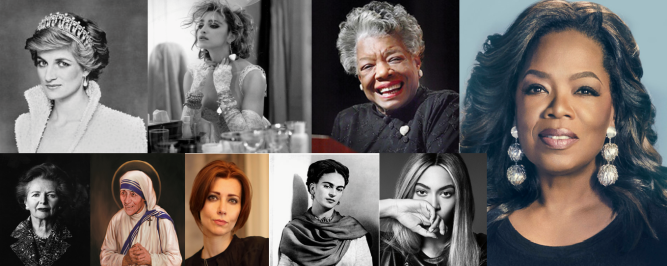 Women Who inspiered me
